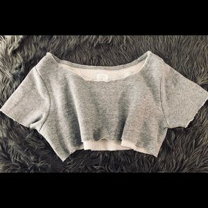 Anthropologie Out From Under Super Crop Tee M